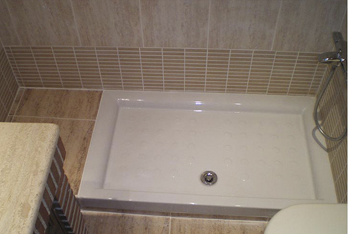 Instalar plato de ducha sustituir ba era por plato ducha - Como instalar un plato de ducha ...